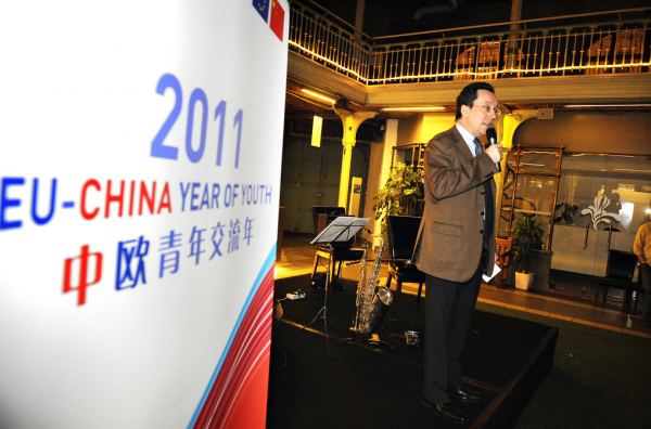 EU-China High Level Forum in Brussels. YEPP president met Chinese youngsters