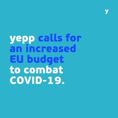 YEPP calls for an increase of the EU budget to combat COVID-19