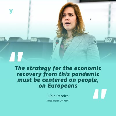 YEPP President and MEP Pereira calls for a people-centred Recovery Plan
